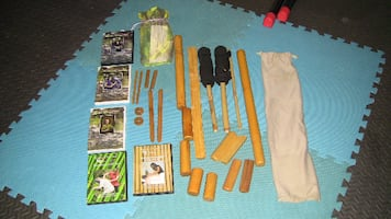 Bamboossage and Bamboo-fusion tools and DVD's