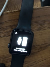 Black apple watch with black sports band Perris, 92571