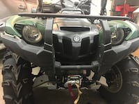 2015 Yamaha grizzly 700 front bumper almost new