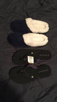 2 pairs of slippers Vineland, 08360
