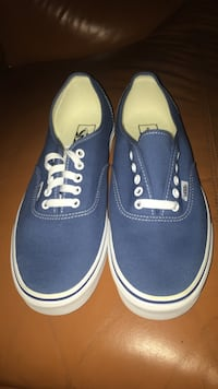 Brand new navy blue vans  Lancaster, 93536