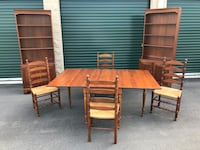 Solid Cherry Dining Room Set - Statton Furniture- 1967