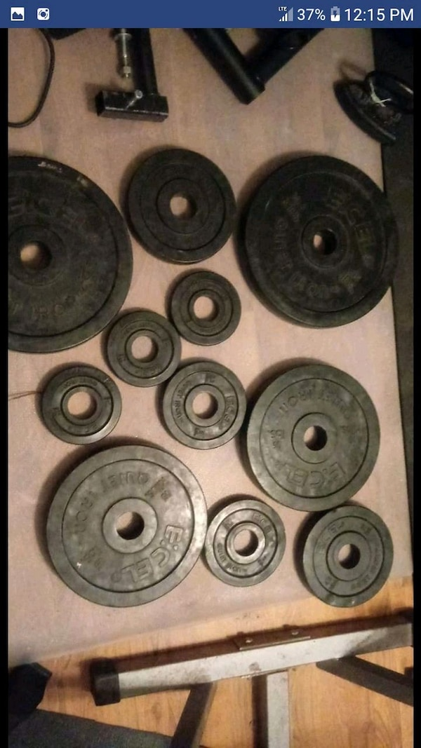 Ecel Quiet iron weight plates