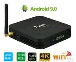 ANDROİD 9.0 TANİX TX6 4 E 32 GB TV BOX