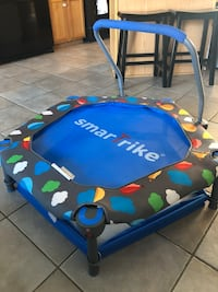 Smarttrike trampoline and ball pit. Very good condition. Flip for ball pit.  Frederick, 21704