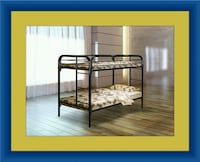 Twin bunk bed frame with mattress all right Adelphi