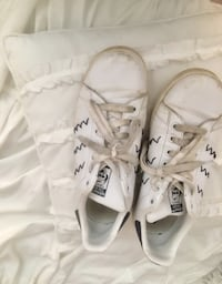 pair of white Adidas cleats Barrie, L4M 6X4