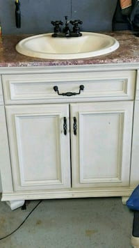 white and brown wooden cabinet Waterford Township, 48328