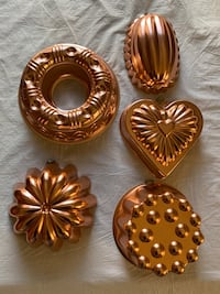 Jello molds/wall art