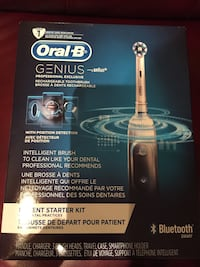 Oral B GENIUS Professional rechargeable toothbrush. New in sealed box. Caldwell, 07006
