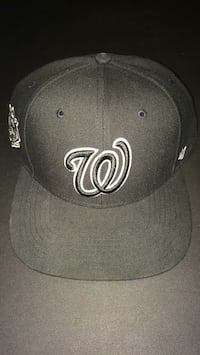 Washington Nationals Black 47' Brand SnapBack Cap (never worn) comes with the authenticity seals 39 km