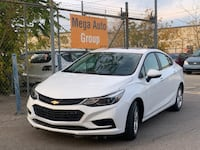 2017 Chevrolet Cruze 4dr Sdn 1.4L LT w/1SD Mississauga