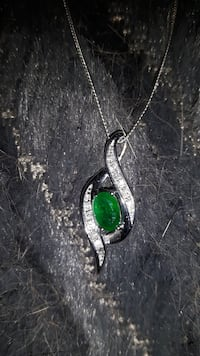 Necklace Emerald and Diamond Pendant Brantford, N3S 6S4