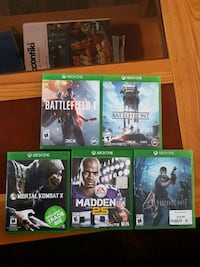 Xbox one games Kitchener, N2H 4R5