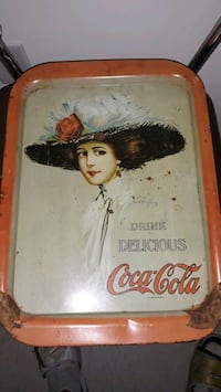 vintage Coca-Cola serving tray this is not a repro