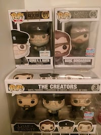 four Pop ! vinyl figures in boxes Surrey, V4N 6B5
