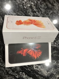 iPhone 6s, 32GB (Unlocked) Rose Gold & Grey Edmonton, T5Y 6G5