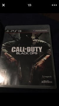 Call of Duty Black Ops PS3 game case Miami, 33150