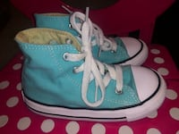 Turquoise High Top Converse - 8c Albuquerque, 87121