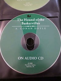 The Hound Of Baskervilles On Audio CD