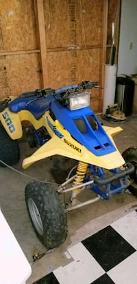 blue and white Yamaha ATV Bainbridge Island, 98110