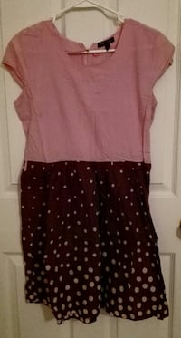 Pink polkadot dress size S Cheyenne, 82007