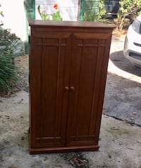brown wooden 2-door cabinet Deland, 32724