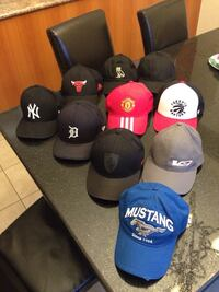 Hats for sale all 8 for $60 599 km