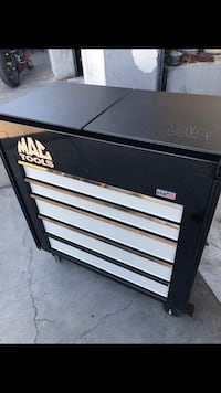 Black and gray Mac Tools tool cabinet Lathrop, 95330