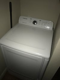 White front-load clothes dryer San Antonio, 78229