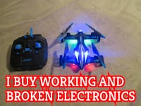 Quadcopter Car Drone With Lights New In Box Bloomington
