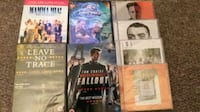 assorted movie DVD case lot