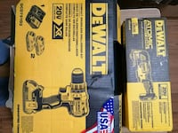 DeWalt set of two.  20 volt New Pickering, L1W 2P5