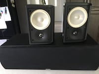 Two black-and-gray speakers Surrey, V3W