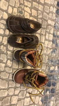 Two pairs toddler shoes  Calgary, T2X 2E2