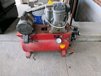 red and black electric air compressor Vaughan, L4K 1N8
