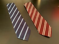 2 PCS classic tie business / office - good condition Londra