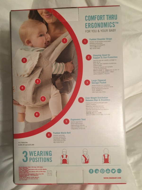 Ergobaby Baby Carrier 63577c6a-5fce-475e-97d8-01b9ab907bf4