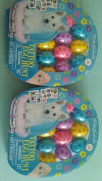 Two pack easter eggs