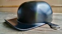 SATIN BLACK MOTORCYCLE HELMET, BRAND NEW IN BOX! M9C 1R5