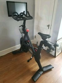 black and gray stationary bike Silver Spring, 20910