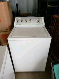 white top-load clothes washer Vancouver, 98662