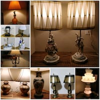Lamps! Lots to choose from... Toronto, M2J 2C2