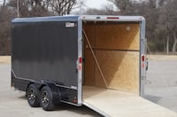 cargo trailer black color WASHINGTON