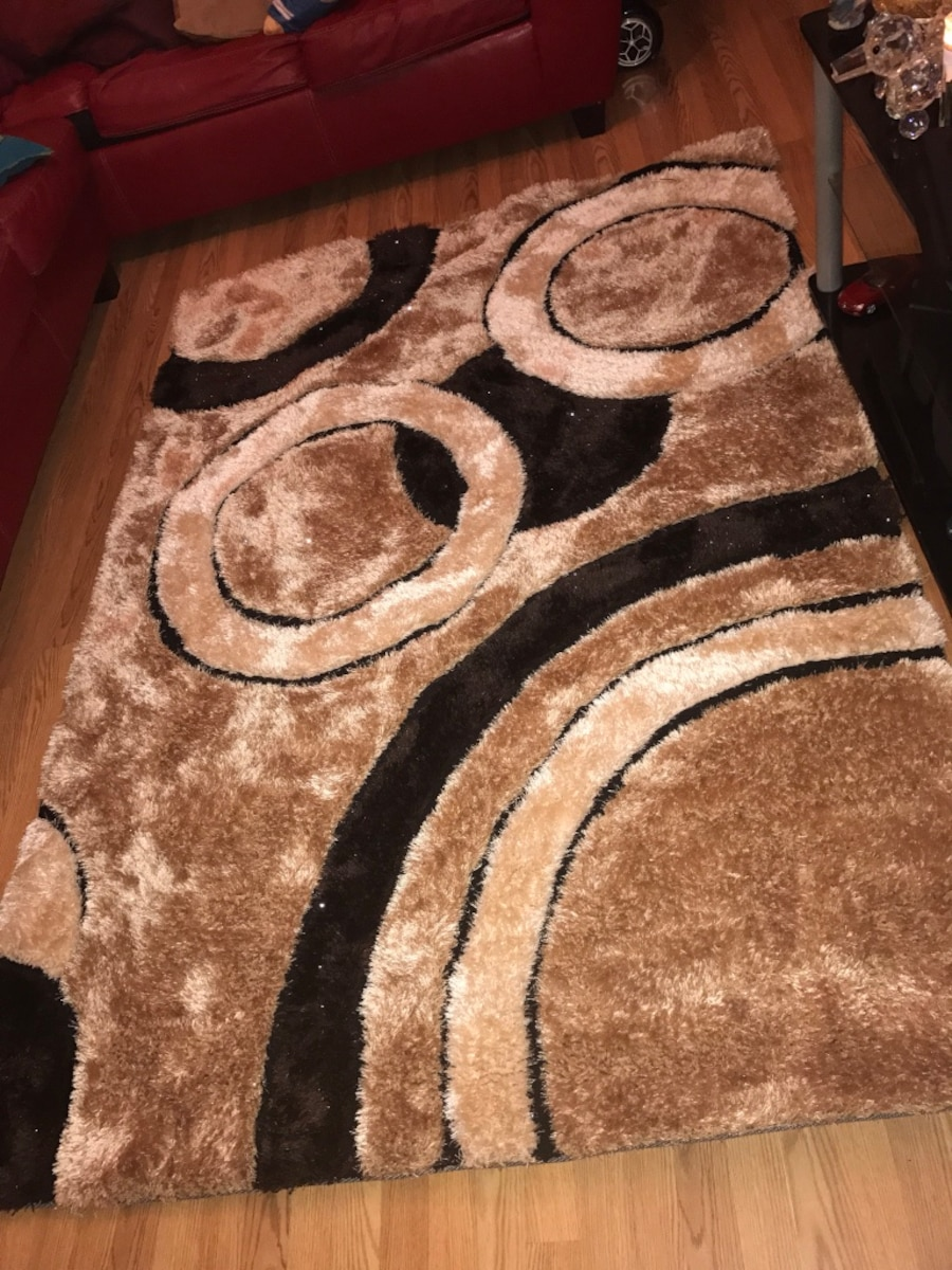 3D Circle Sparkly Carpet - IN