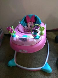 baby's pink and blue Minnie Mouse walker 283 mi