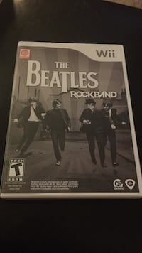 Wii the beatles rockband like new condition Warwick, 02888