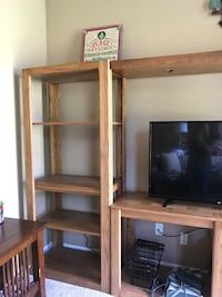 Wall unit 3-sections excellent condition. (TV not included) Fairlawn, 44333