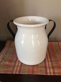 WHITE JUG WITH HANDLES  Kitchener, N2A 2W1