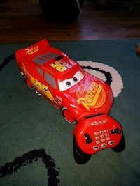 Lightening McQueen Remote Control Race Car